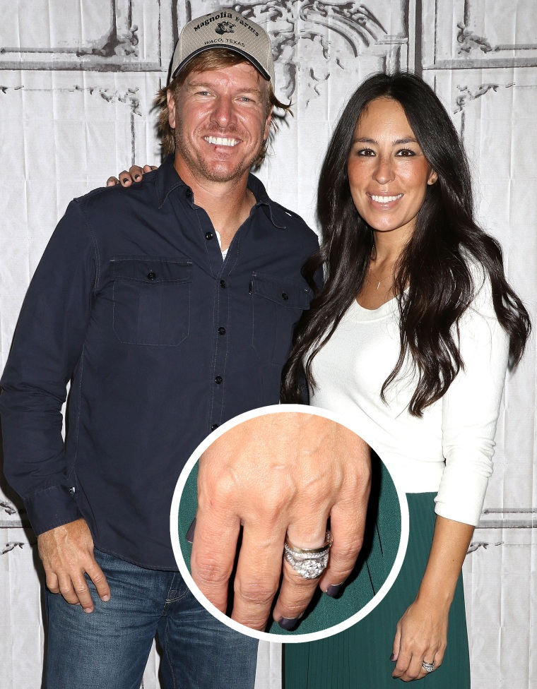 Why Fixer Upper S Joanna Gaines Will Never Upgrade Her Ring