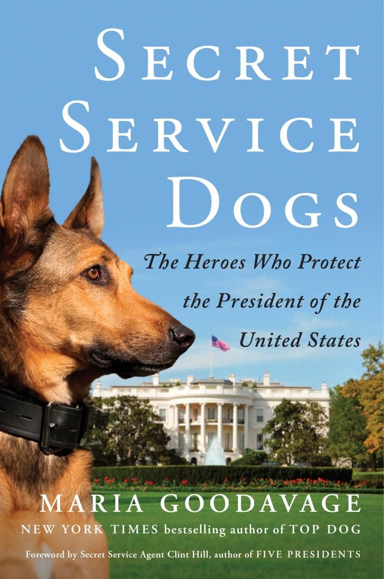 """Secret Service Dogs"" book cover"