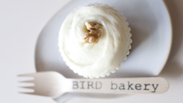 BIRD Bakery Award Winning Carrot Cupcakes recipe