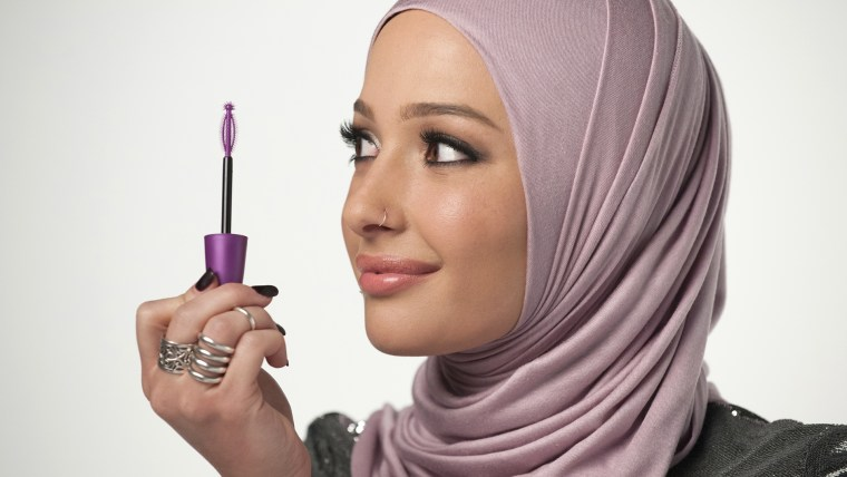 Nura Afia, a beauty blogger and a new ambassador for CoverGirl