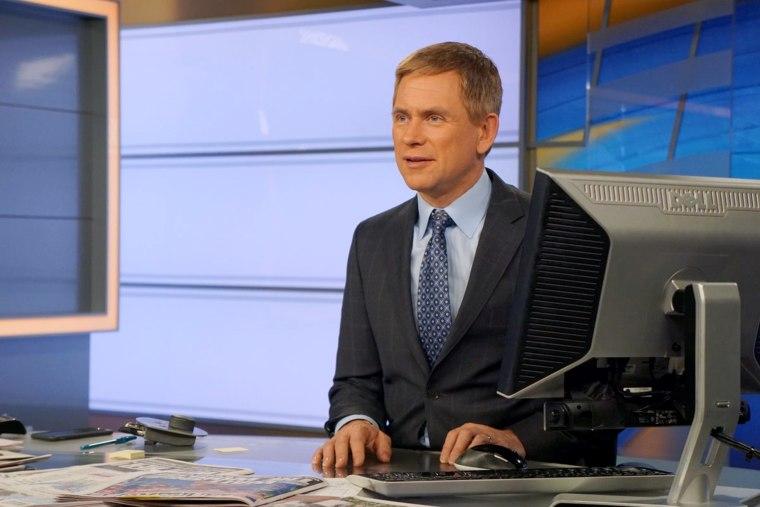 NY1 morning news anchor Pat Kiernan's morning routine