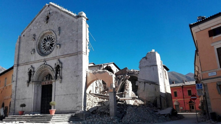 Image: Basilica of St. Benedict in Norcia, Italy
