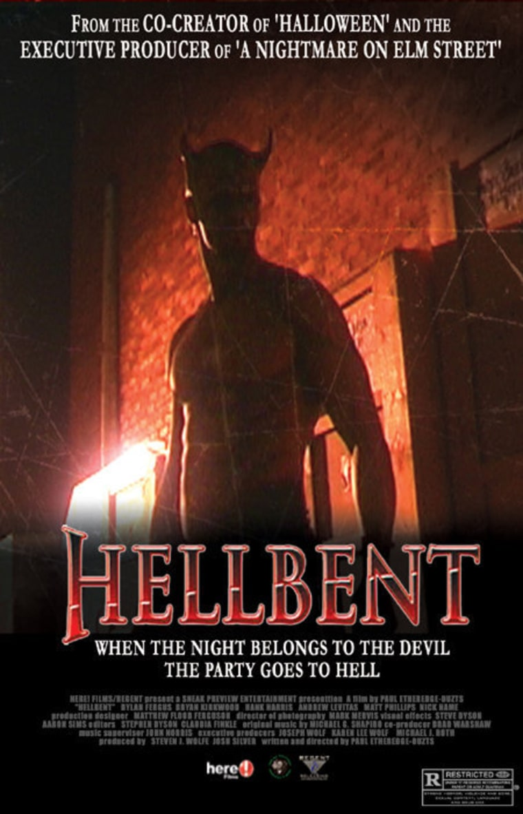 """Hellbent"" film poster."