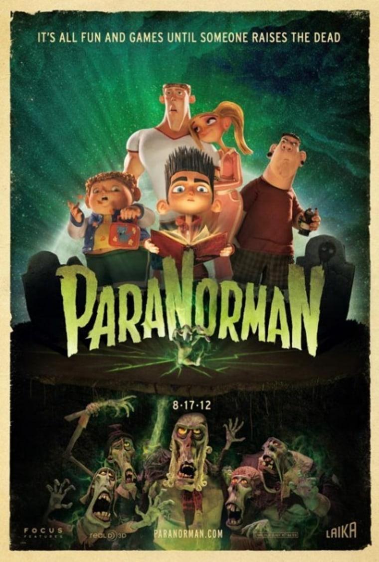 """ParaNorman"" film poster."
