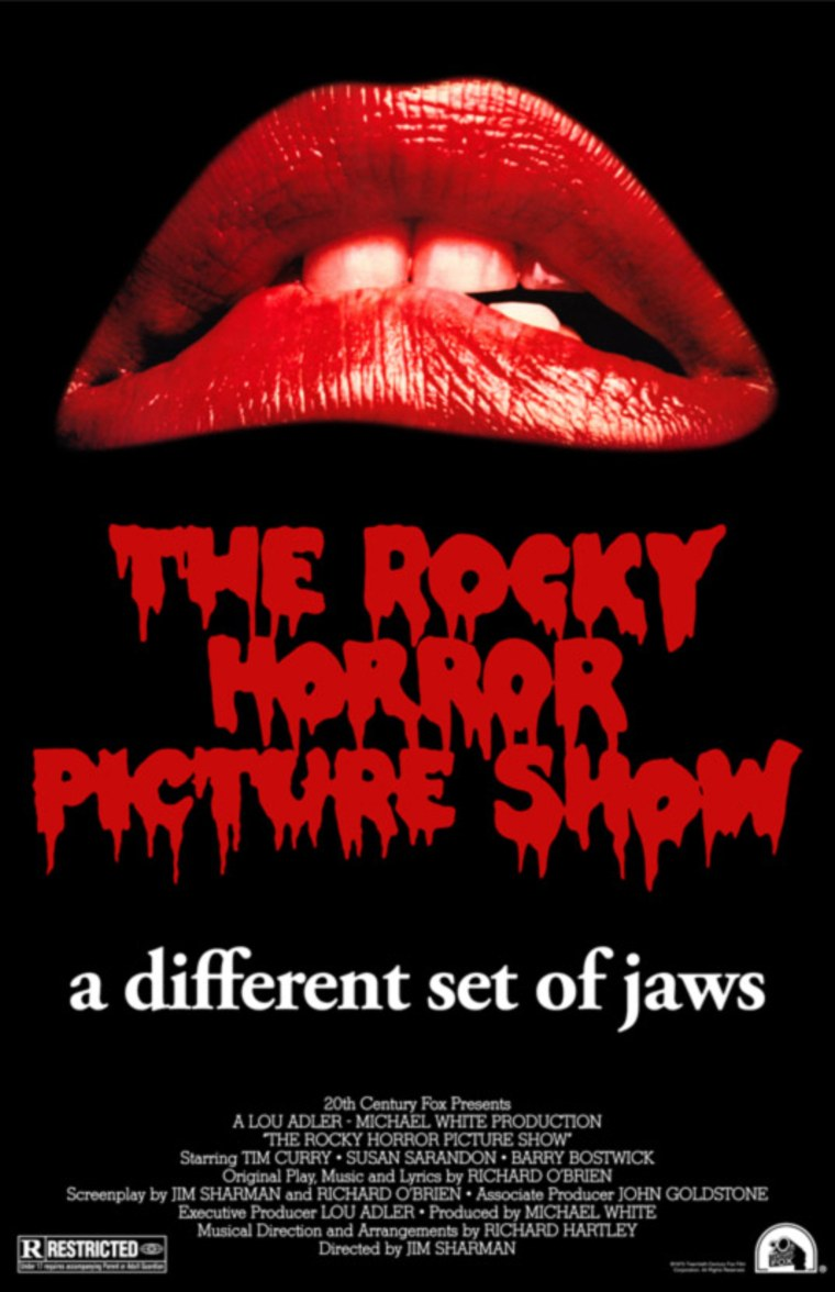 """""""The Rocky Horror Picture Show"""" - Official Fan Club Poster #1"""