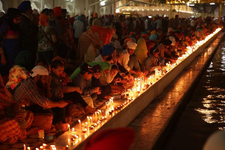 Image: Diwali festival and Bandi Chorh Divas celebrations in Amritsar