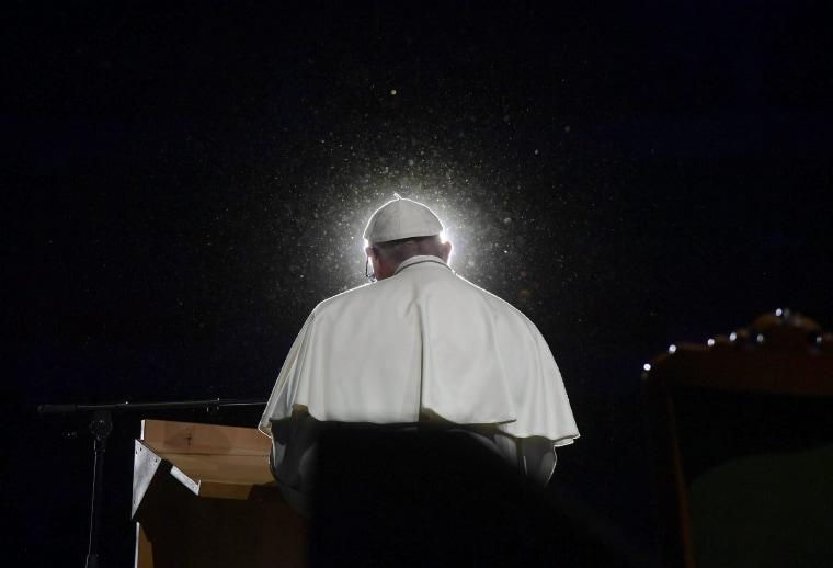 Image: Pope Francis visits Sweden