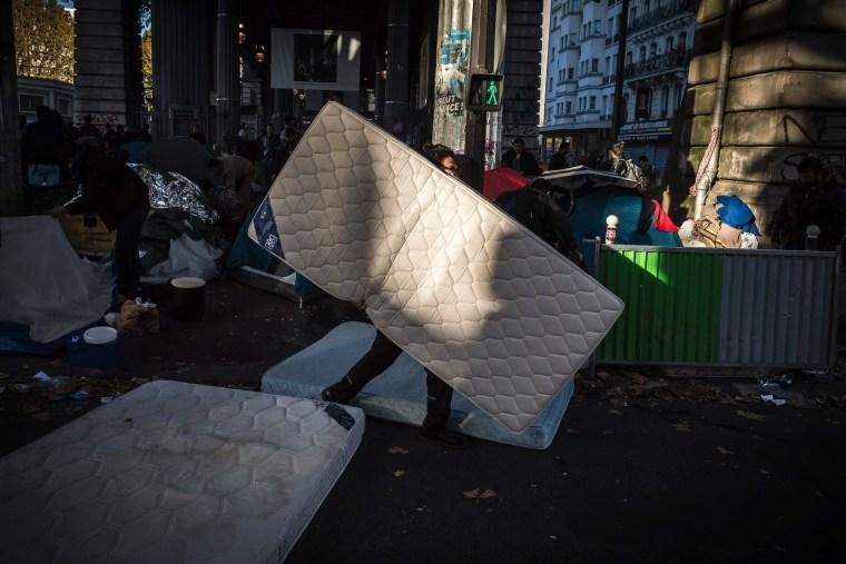 Image: TOPSHOT-FRANCE-EUROPE-MIGRANTS