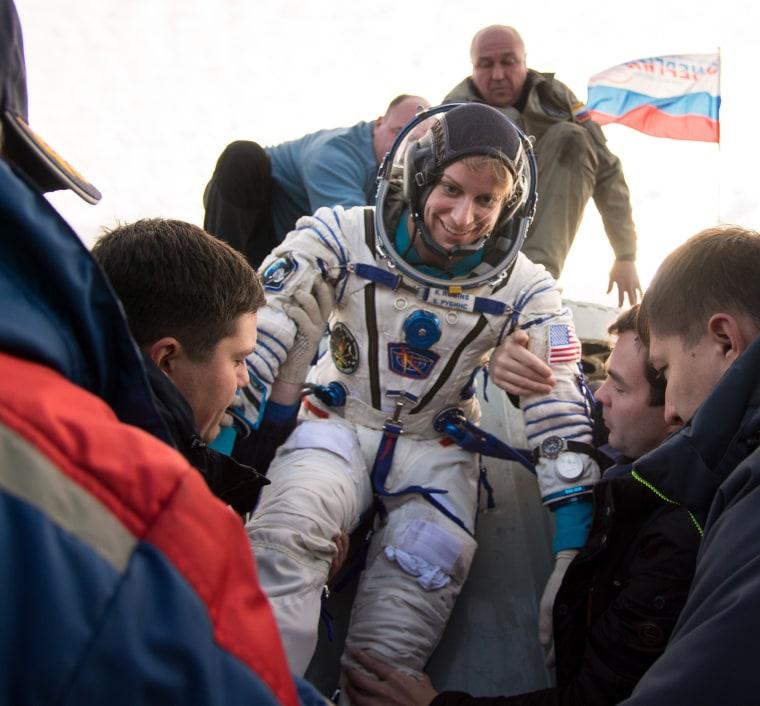 Image: Expedition 49 Soyuz MS-01 Landing