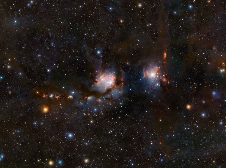 Image: SPACE-ASTRONOMY-ORION-MESSIER 78