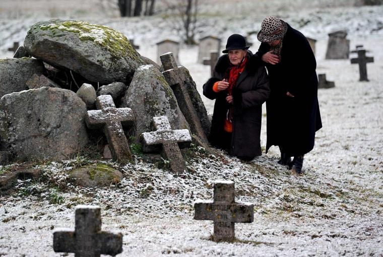 Image: TOPSHOT-BELARUS-RELIGION-ALL-SAINTS