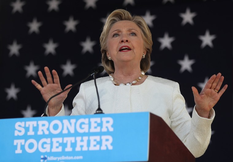 Image: Hillary Clinton Campaigns Across Florida, Encourages Early Voting