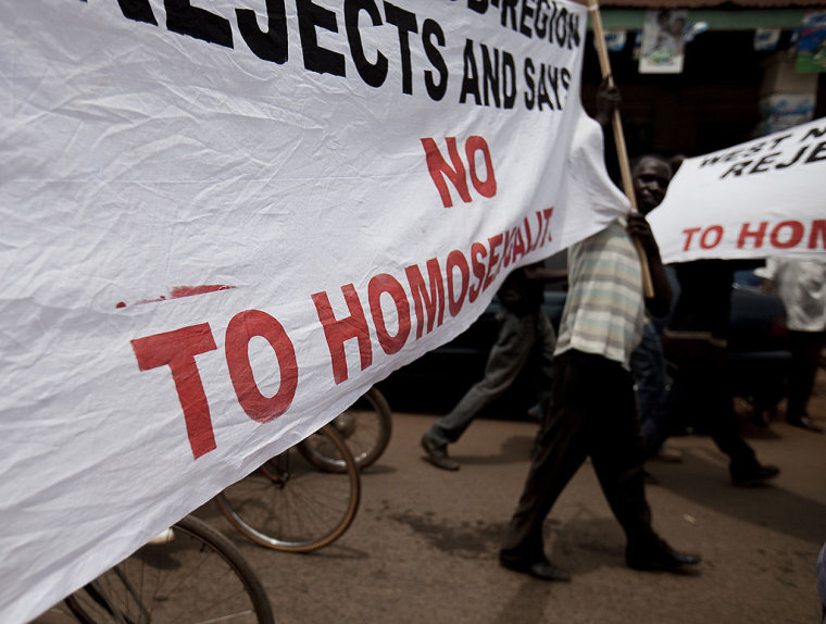 Gay Ugandans Say Police Use Torturous Method to 'Prove' Homosexuality