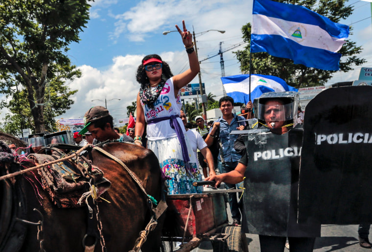 NICARAGUA-ELECTION-PROTEST
