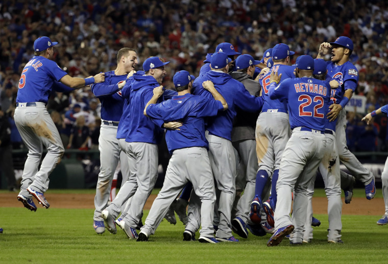 IMAGE: Cubs win World Series