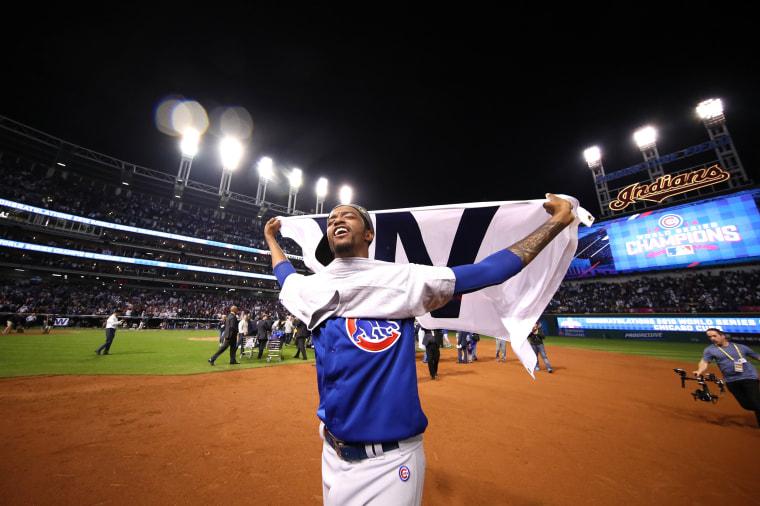Image: Chicago Cubs v Cleveland Indians