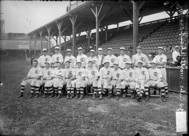 The World Champion Cubs Of 1908