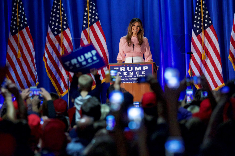 Image: Melania Trump holds an event at Main Line Sports Centre in Berwyn, Pennsylvania