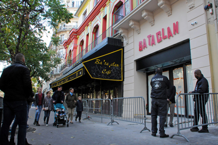 Bataclan Concert Hall Unveils New Facade One Year After Attacks - Paris