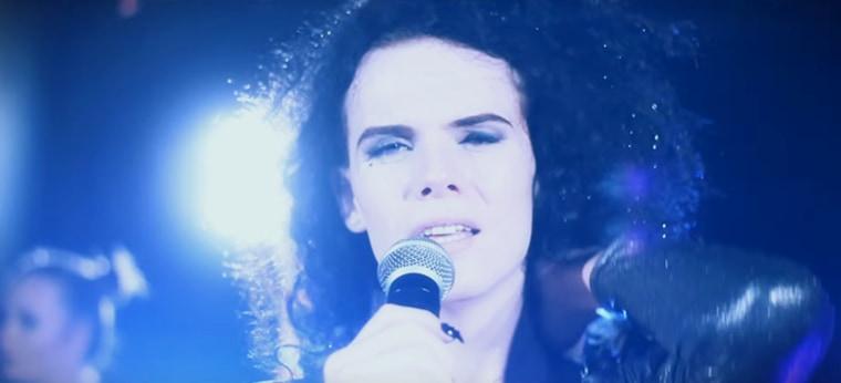 Image: Jordan Gray in her music video 'Platinum'