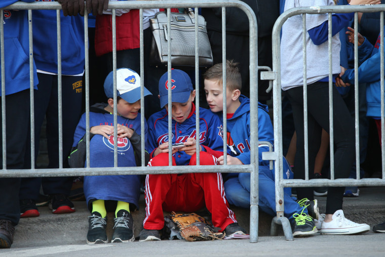 Image: Chicago Cubs parade