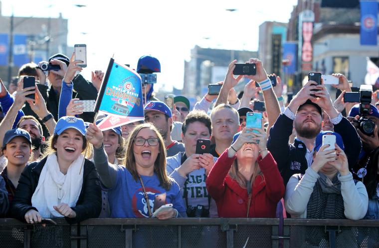 Image: Chicago Cubs Victory Celebration