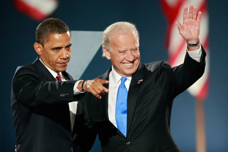 Image: Barack Obama and Joe Biden