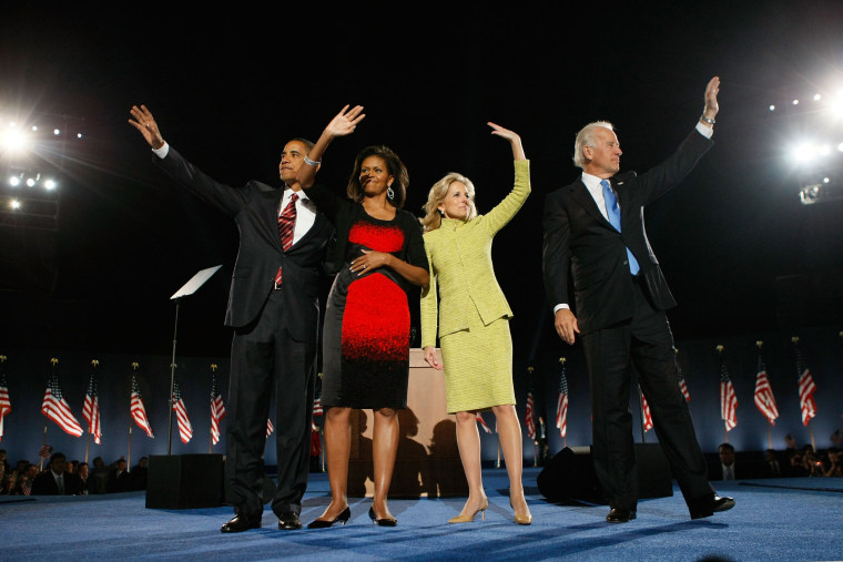 Image: Barack Obama Holds Election Night Gathering In Chicago's Grant Park