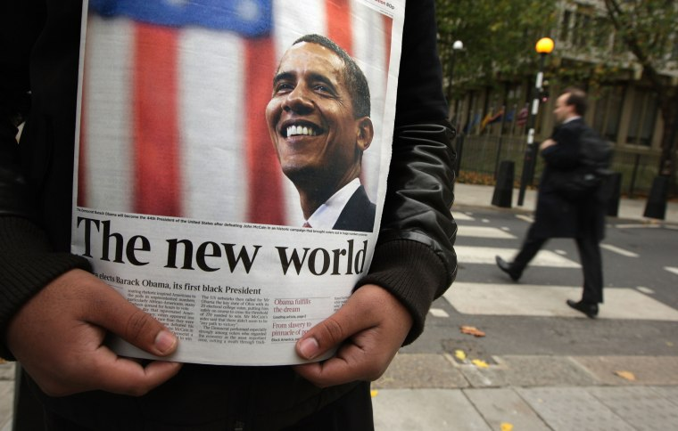 Image: The World Absorbs News Of US Election