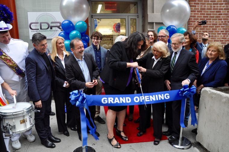 Edie Windsor at the ribbon-cutting ceremony for the Thea Spyer Center in New York City on November 3, 2016.