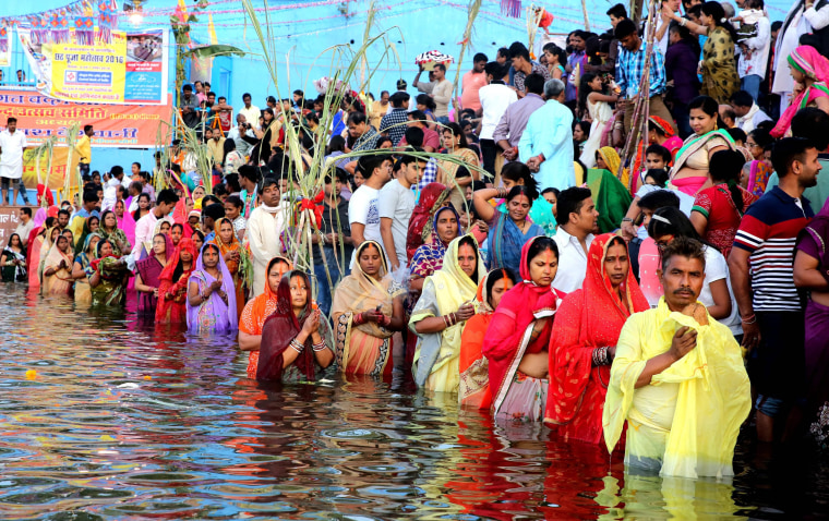 Image: Chhath festival in Bhopal
