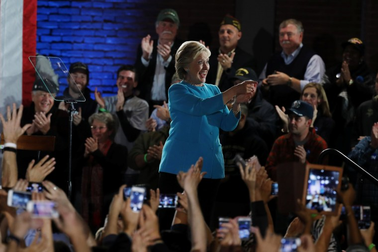 Image: Hillary Clinton in New Hampshire