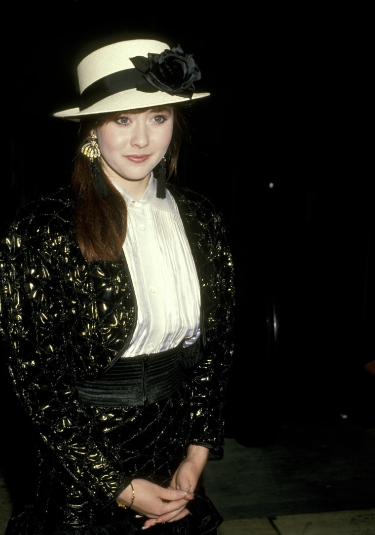 Shannen Doherty at Spago's Restaurant - March 3,1988