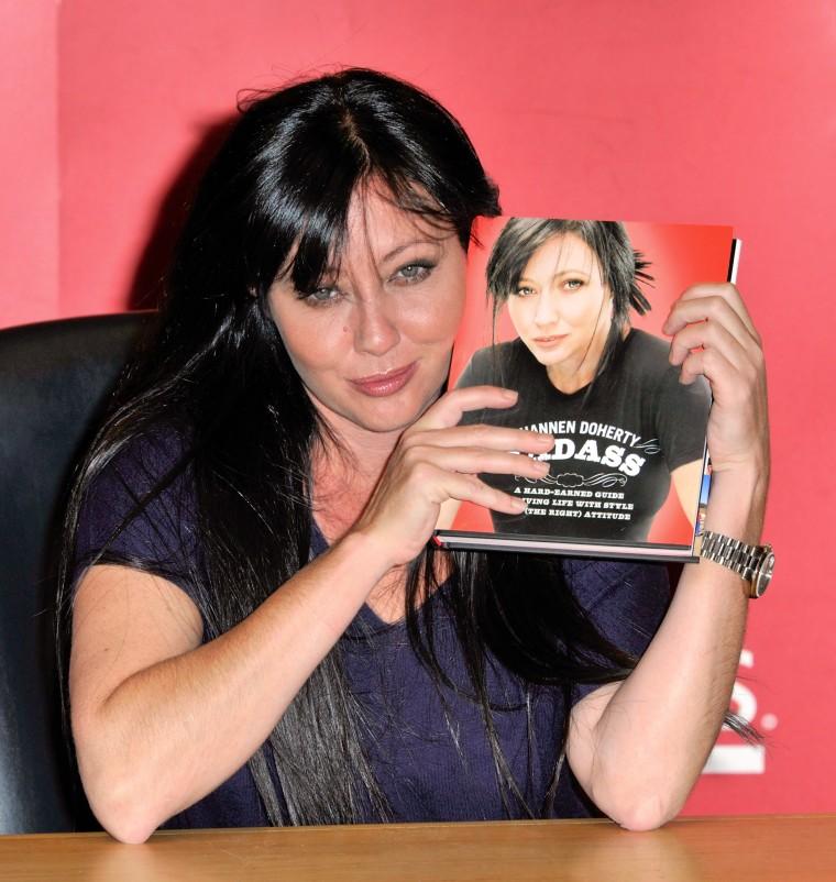 "Shannen Doherty Signs Copies Of ""Badass"" - November 2, 2010"