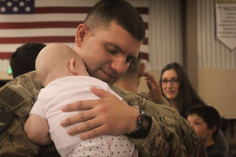 Military moms and dads