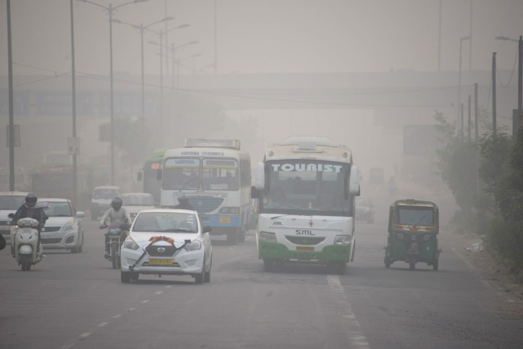 Image: INDIA-ENVIRONMENT-POLLUTION-SMOG