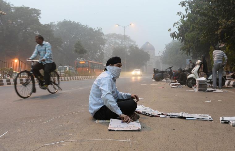 Image: INDIA-POLLUTION-ENVIRONMENT-DELHI