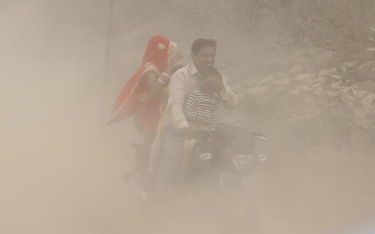 Image: Air pollution in New Delhi