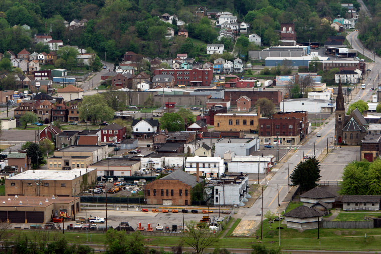 Image: The town of Steubenville