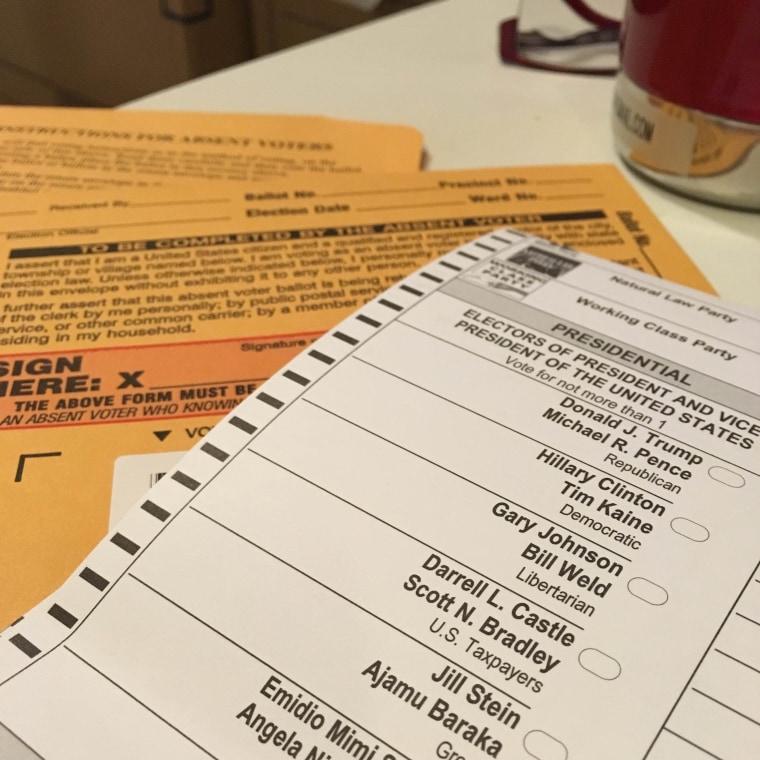 Frances Kai-Hwa Wang's ballot this year.
