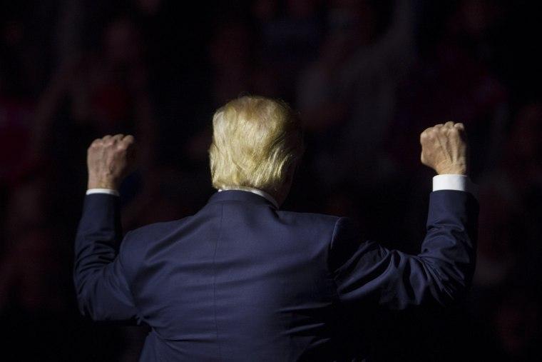 Image: Donald Trump in New Hampshire
