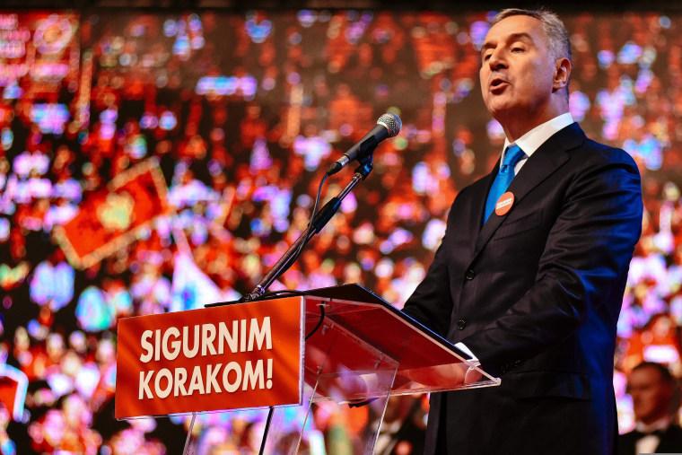 Image: Montenegrin Prime Minister Milo Djukanovic
