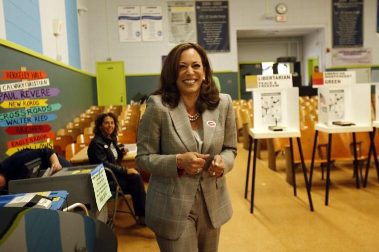 California AG Kamala Harris Campaigns For U.S. Senate Seat