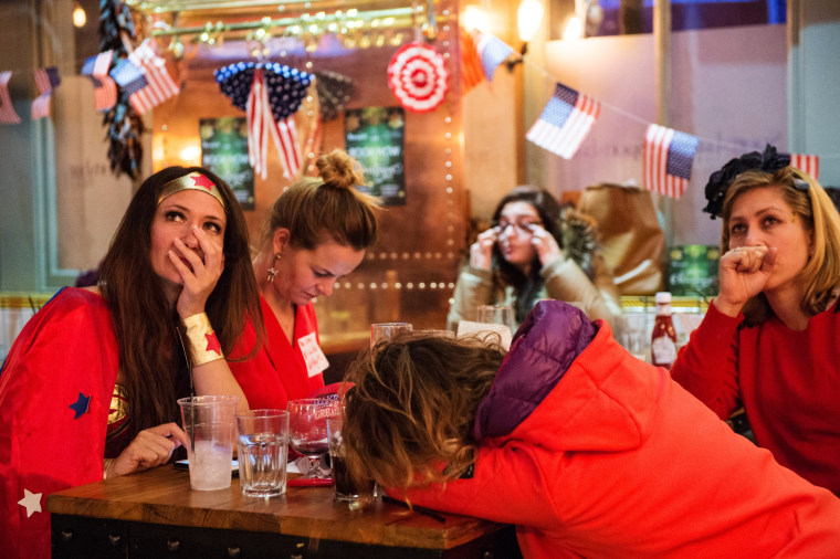 Image: Democrats Abroad Hold US Election Night Party