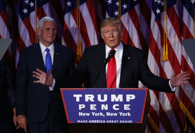 Republican Presidential Nominee Donald Trump Hosts Election Night Party