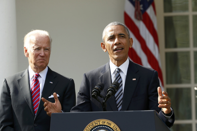 Image: U.S.  President Obama delivers statement on U.S. presidential election results from the White House in Washington
