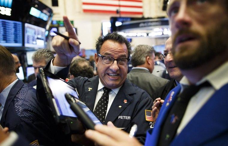 Image: New York Stock Exchange Trump Reaction