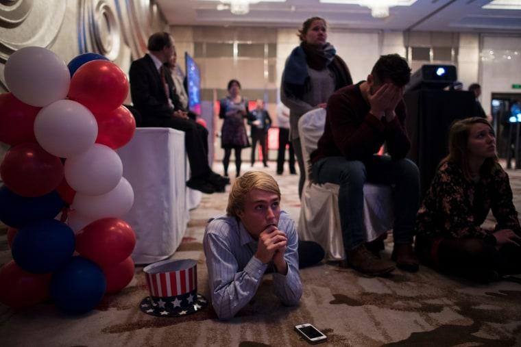 Image: TOPSHOT-CHINA-US-VOTE