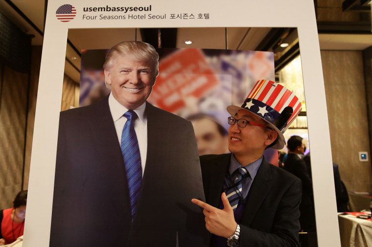 Image: South Korea Reacts To U.S. Presidential Election