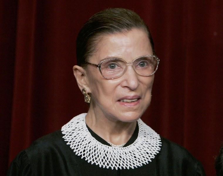 Image: U.S. Supreme Court Justice Ruth Bader Ginsburg